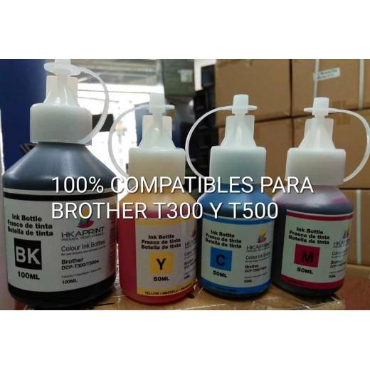NUEVAS TINTAS ESPECIFICAS PARA BROTHER T300,T500
